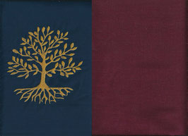 Lebensbaum Marine + Bordeaux