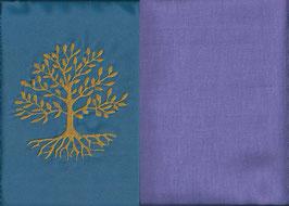 Lebensbaum Blau + Flieder