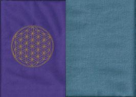 Blume des Lebens Lila+ Schwedenblau