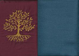 Lebensbaum Bordeaux + Rauchblau