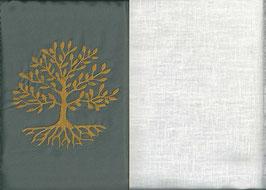 Lebensbaum Grau + Creme