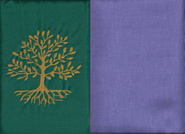 Lebensbaum Grün + Flieder