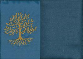 Lebensbaum Blau + Rauchblau