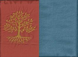 Lebensbaum Orange + Schwedenblau
