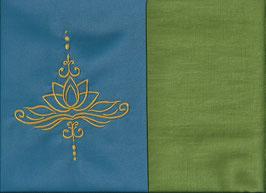 Lotusblüte Blau + Pistazie