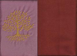 Lebensbaum Altrosa + Rostrot