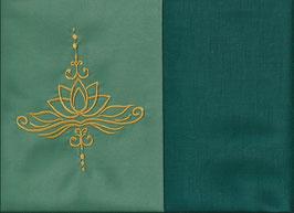 Lotusblüte Mintgrün + Petrol