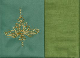 Lotusblüte Mintgrün + Pistazie
