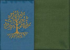 Lebensbaum Blau + Moosgrün