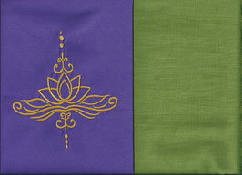 Lotusblüte Lila + Pistazie