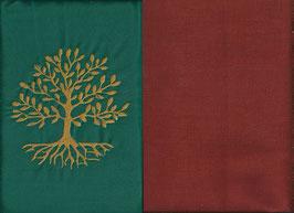 Lebensbaum Grün + Rostrot