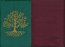 Lebensbaum Grün + Bordeaux