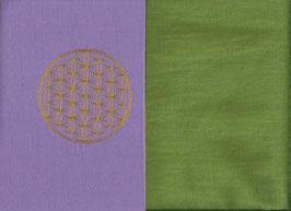 Blume des Lebens Flieder + Pistazie