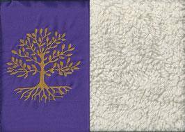 Lebensbaum Lila + Baumwollplüsch