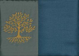 Lebensbaum Grau + Rauchblau