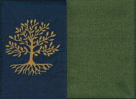 Lebensbaum Marine + Moosgrün