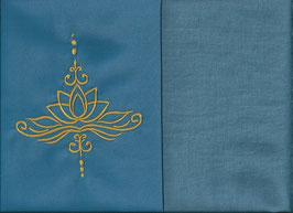 Lotusblüte Blau + Schwedenblau