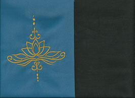 Lotusblüte Blau + Schokobraun