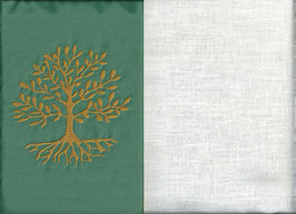 Lebensbaum Mintgrün + Creme