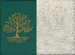 Lebensbaum Grün + Baumwollplüsch
