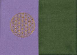 Blume des Lebens Flieder + Moosgrün
