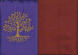 Lebensbaum Lila + Rostrot