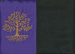 Lebensbaum Lila + Schokobraun