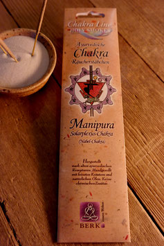Räucherstäbchen Chakra Line, Manipura, Solarplexus-Chakra   10 g (10 Stück)