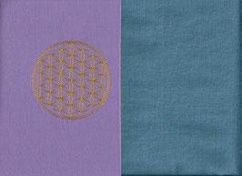Blume des Lebens Flieder + Schwedenblau