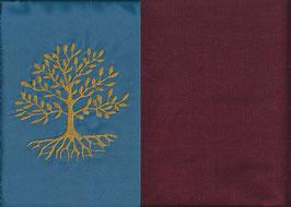 Lebensbaum Blau + Bordeaux