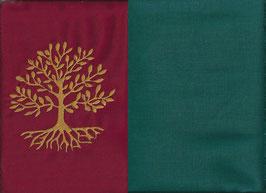 Lebensbaum Rot + Petrol