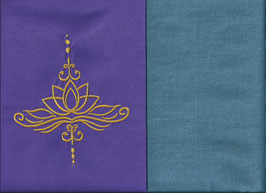 Lotusblüte Lila + Schwedenblau