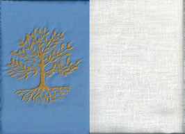 Lebensbaum Hellblau + Creme