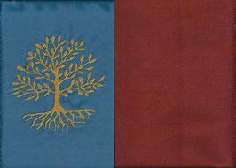 Lebensbaum Blau + Rostrot