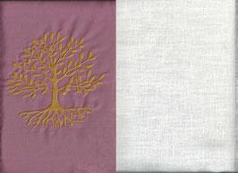 Lebensbaum Altrosa + Creme