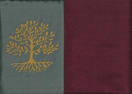 Lebensbaum Grau + Bordeaux
