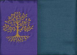 Lebensbaum Lila + Rauchblau