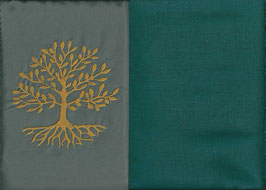 Lebensbaum Grau + Petrol