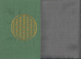 Blume des Lebens Mintgrün + Steingrau