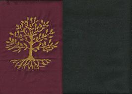 Lebensbaum Bordeaux + Schokobraun