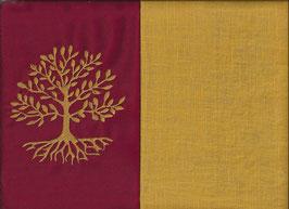 Lebensbaum Rot + Ockergelb