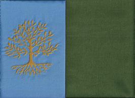 Lebensbaum Hellblau + Moosgrün