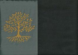 Lebensbaum Grau + Schokobraun