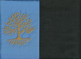 Lebensbaum Hellblau + Schokobraun