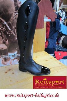 """De Niro Boot """"Rolex+PS"""", Black"""