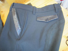 equiline Reithose, navy mit Paillettes