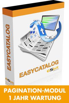 EasyCatalog Pagination-Modul 1 Jahr Softwarewartung