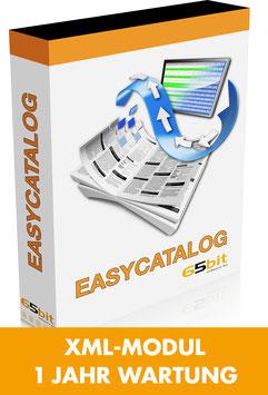 EasyCatalog XML-Modul 1 Jahr Softwarewartung