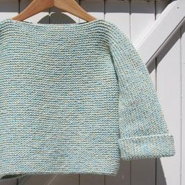 Kit tricot - niveau débutant -  Pull enfant 4 ans