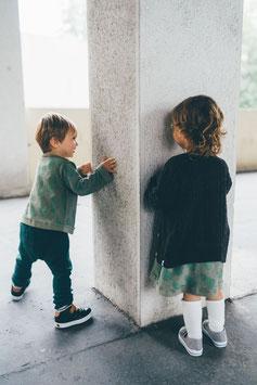 Pantalon jersey endroit RECYCLÉ pour bébé